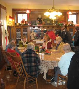 bakesale openhouse dining room