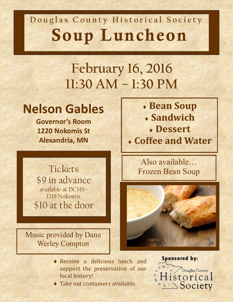 Bean soup flyer 2016