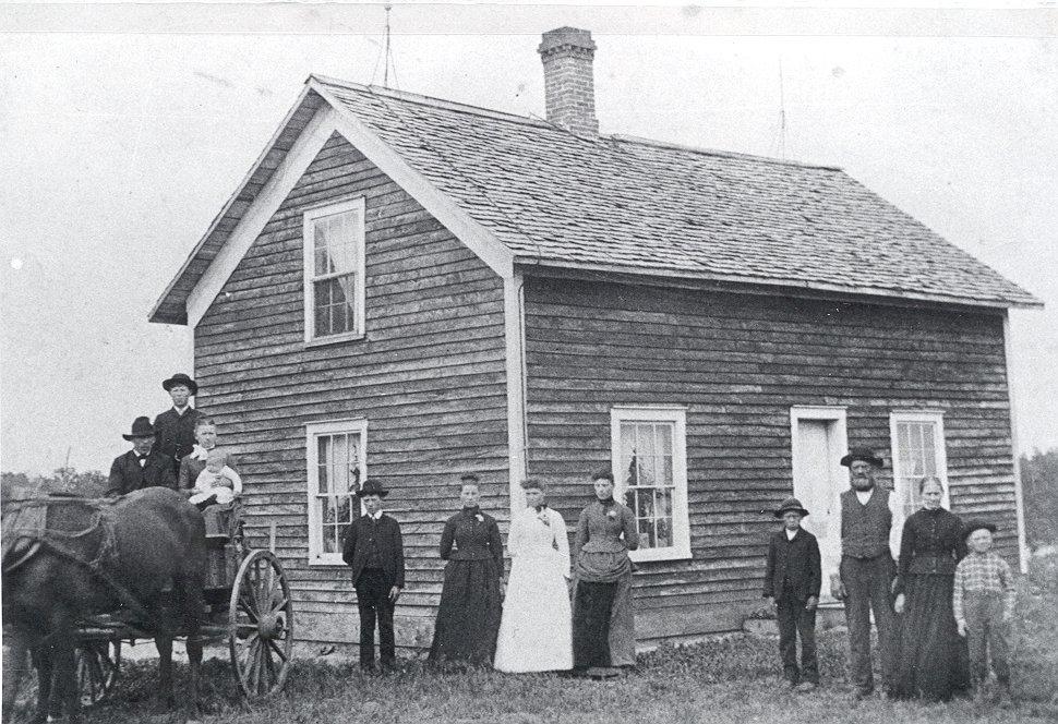 Daniel Granlund family, Nelson, MN copy 2