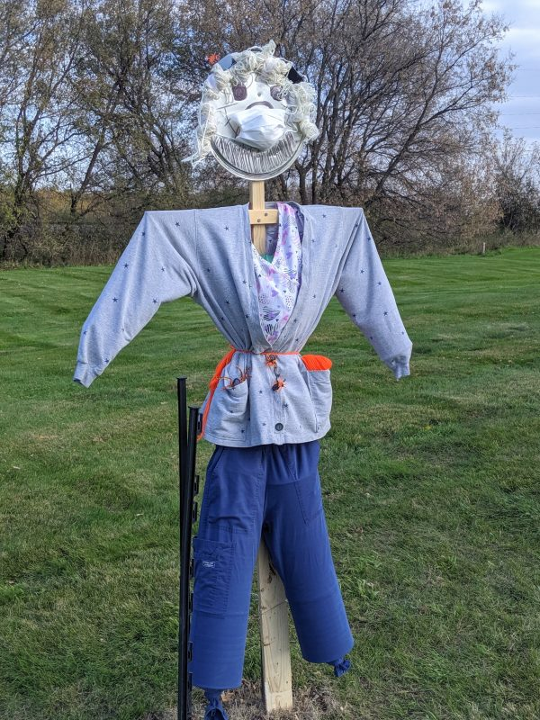 Scarecrow #6, Wanda Wild made by Bethany Adult Day Services!