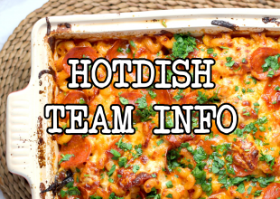 hotdish team info header