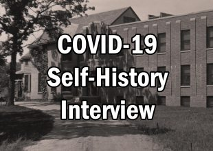 Thumbnail for the post titled: COVID-19 Self-History Interview