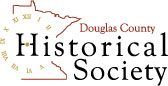 Logo for Douglas County Historical Society, MN
