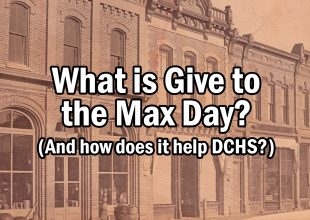 Thumbnail for the post titled: What is Give to the Max Day? And how does it help DCHS?